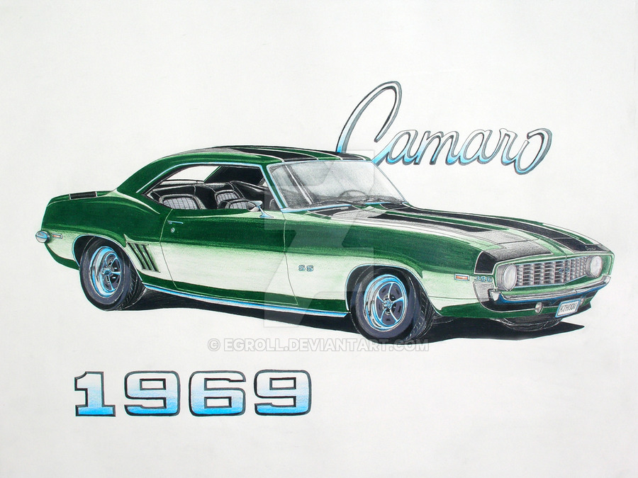 69 Camaro Drawing at GetDrawings Free for personal use 69