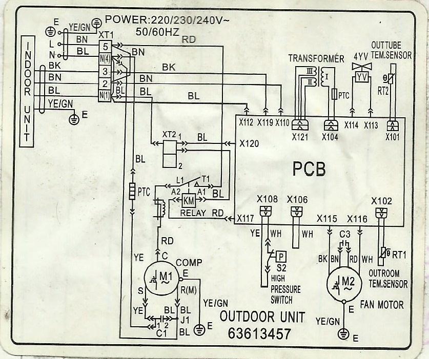 Carrier Condensing Unit Wiring Diagram Schematic Diagram