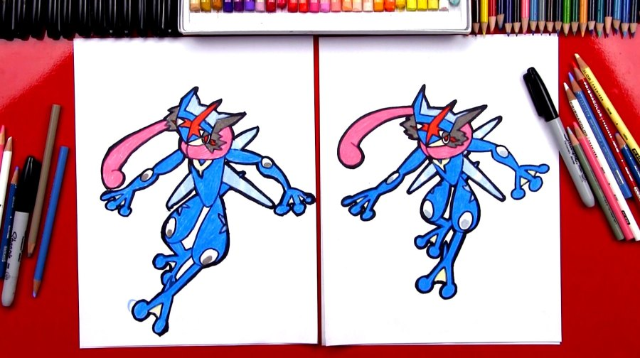 1914x1072 How To Draw Ash Greninja From Pokemon
