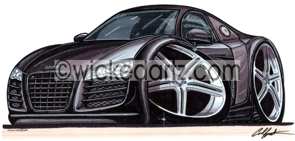 Audi R8 Drawing at GetDrawings Free for personal use Audi R8 - best of blueprint drawings of audi r8
