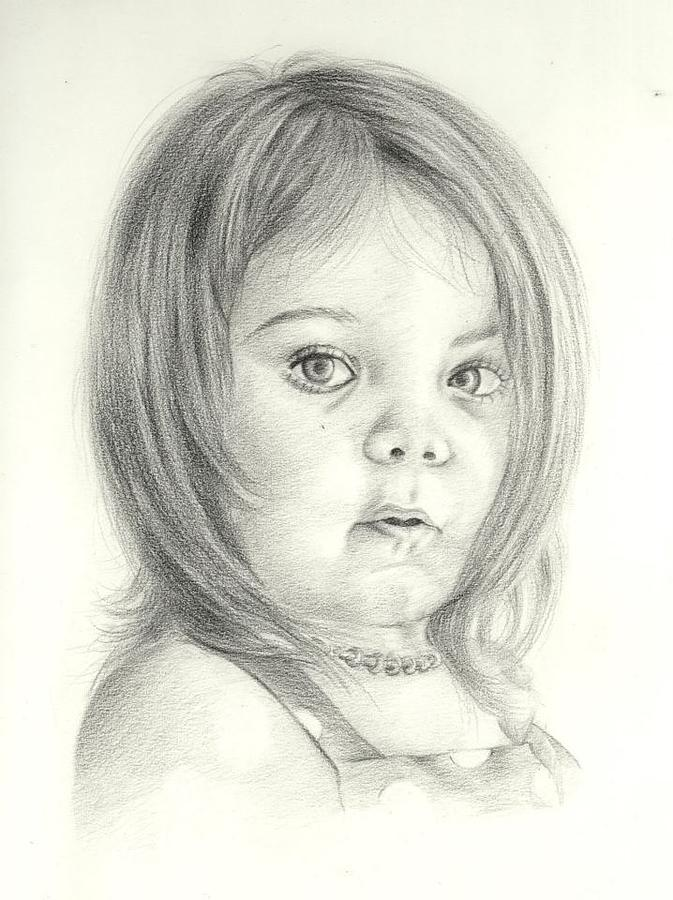 Baby Girl Drawing Images at GetDrawings Free for personal use