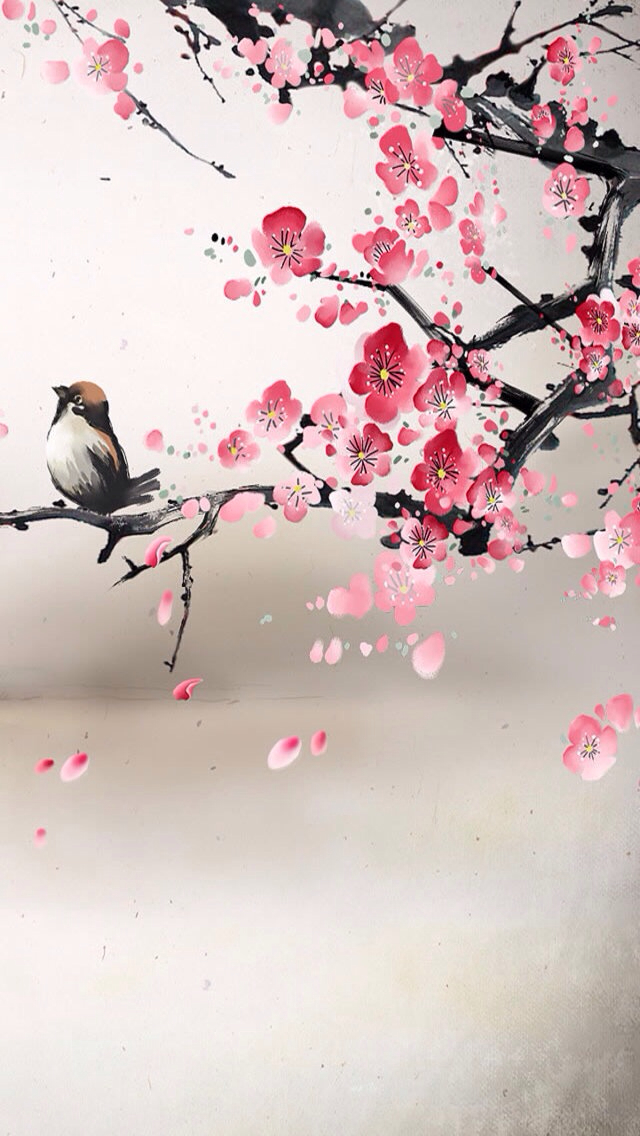 Cherry Blossom Drawing Wallpaper at GetDrawings Free for - cherry blossom animated