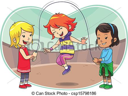 Children Playing Drawing at GetDrawings Free for personal use - cartoon children play