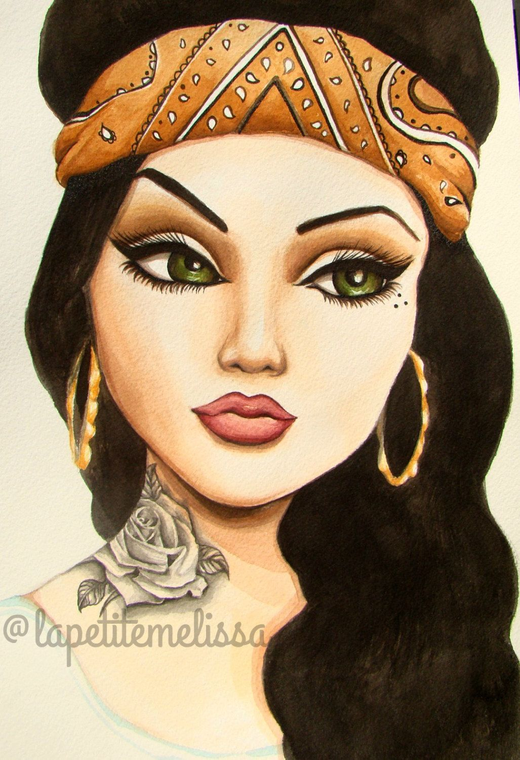 Arte Chicano Dibujos Chola Girl Drawing At Getdrawings Free For Personal Use