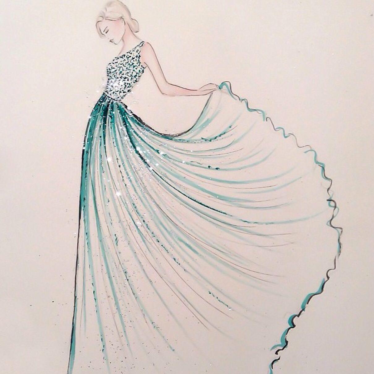 Fullsize Of How To Draw Dresses