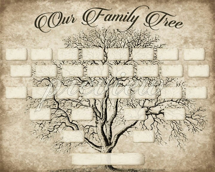 Free Family Tree Drawing at GetDrawings Free for personal use - printable family tree free