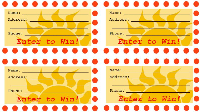 Free Raffle Drawing Template at GetDrawings Free for personal - free printable raffle tickets template