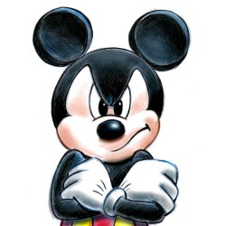 Small Crop Of Picture Of Mickey Mouse