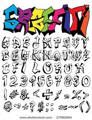 Graffiti Letters Az Drawing at GetDrawings Free for personal