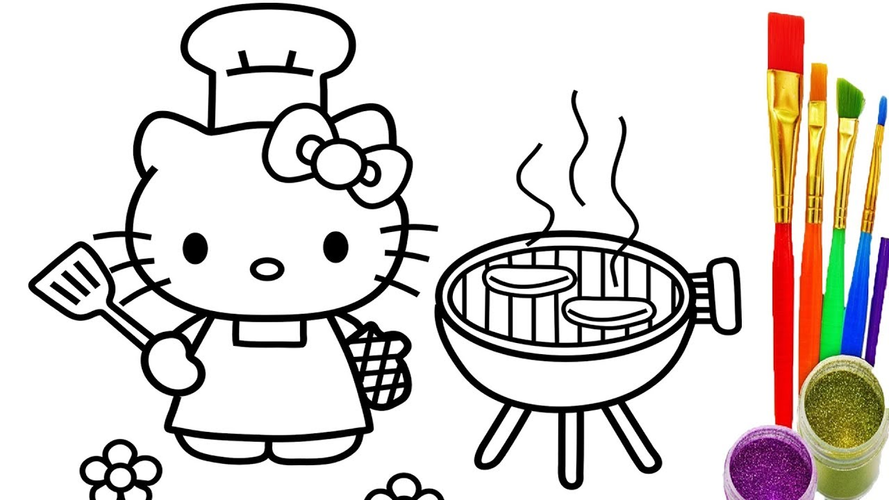 Hello Kitty Drawing For Kids At Getdrawingscom Free For