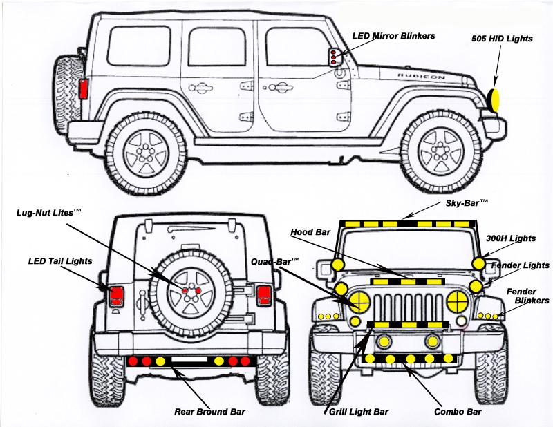 jeep wrangler jk hardtop wiring harness