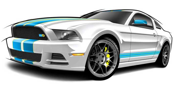 Mustang Gt Drawing at GetDrawings Free for personal use