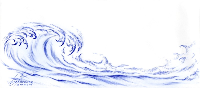 Ocean Waves Drawing at GetDrawings Free for personal use Ocean