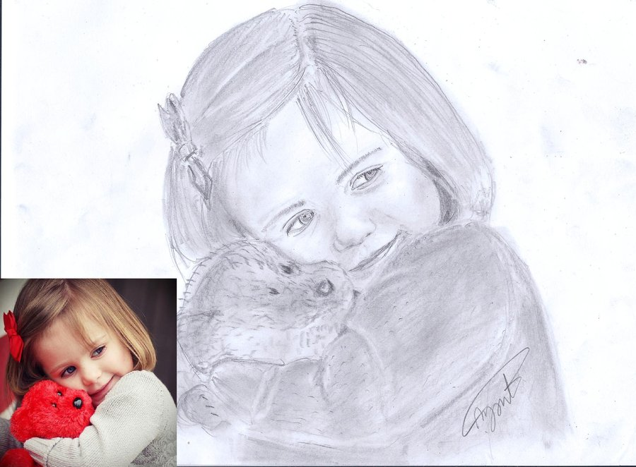 Pencil Drawing Of A Baby at GetDrawings Free for personal use
