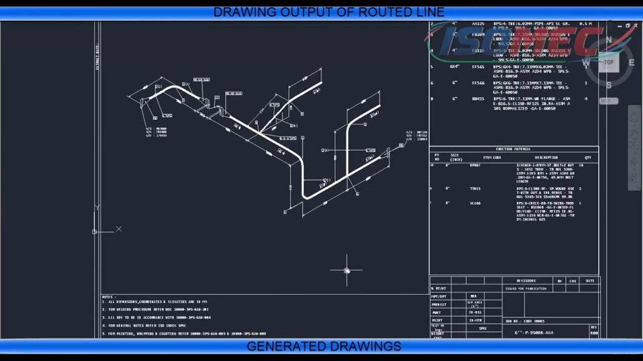 Pipe Fitting Cad Drawings Castrophotos Hvac Piping Drawing 3d