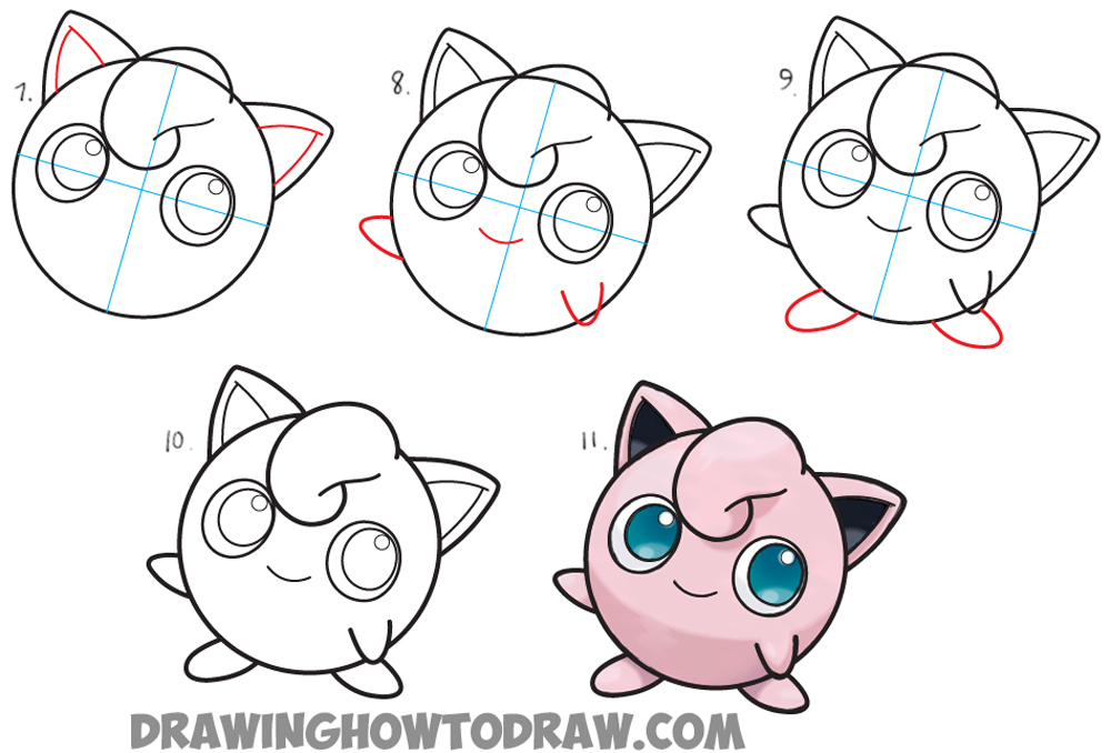 Comfortable Pokemon Easy Drawing At Getdrawingscom Free For Personal