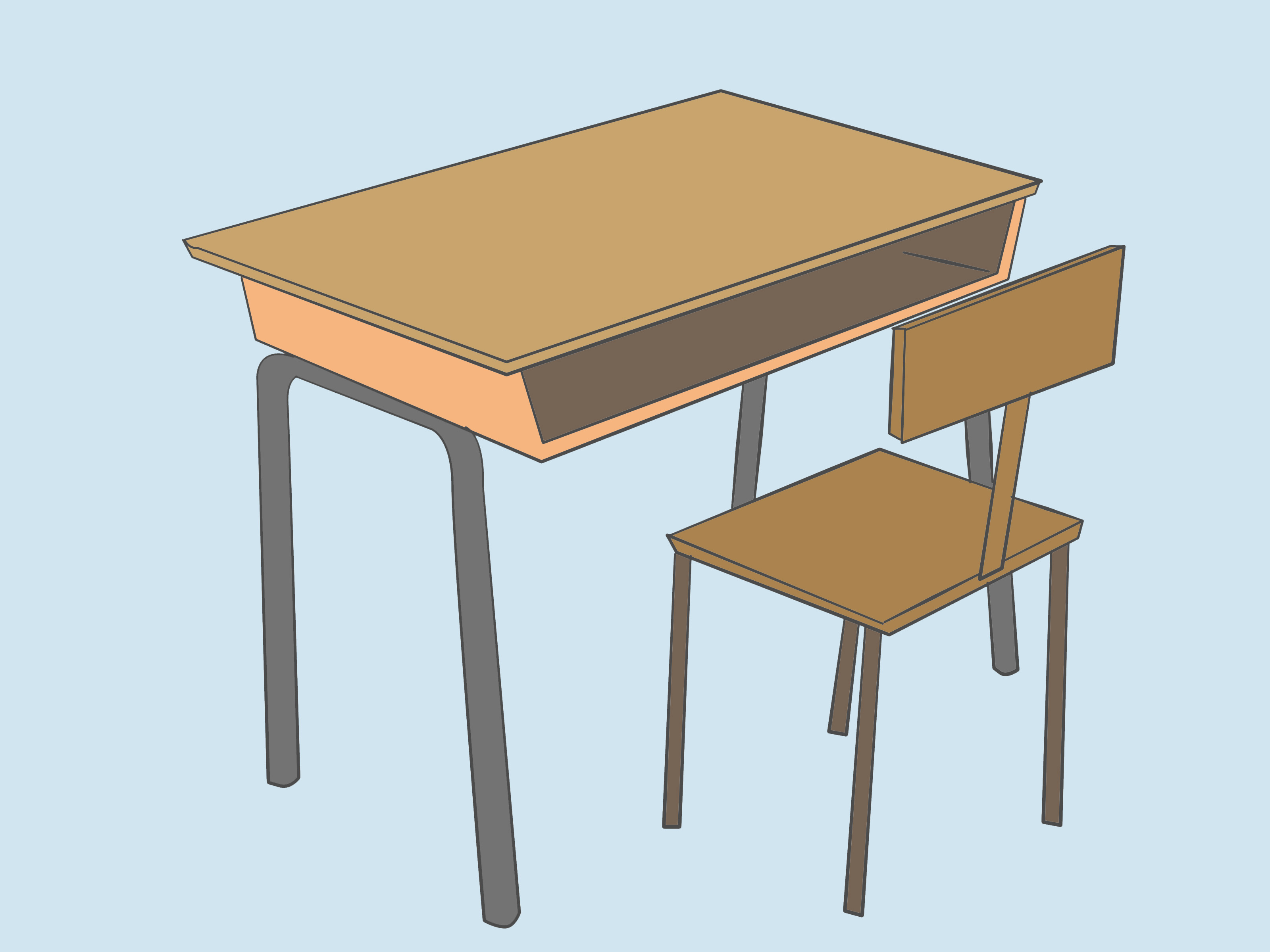 School Desk Drawing At Getdrawingscom Free For Personal Use School Desk Drawing Of Your Choice