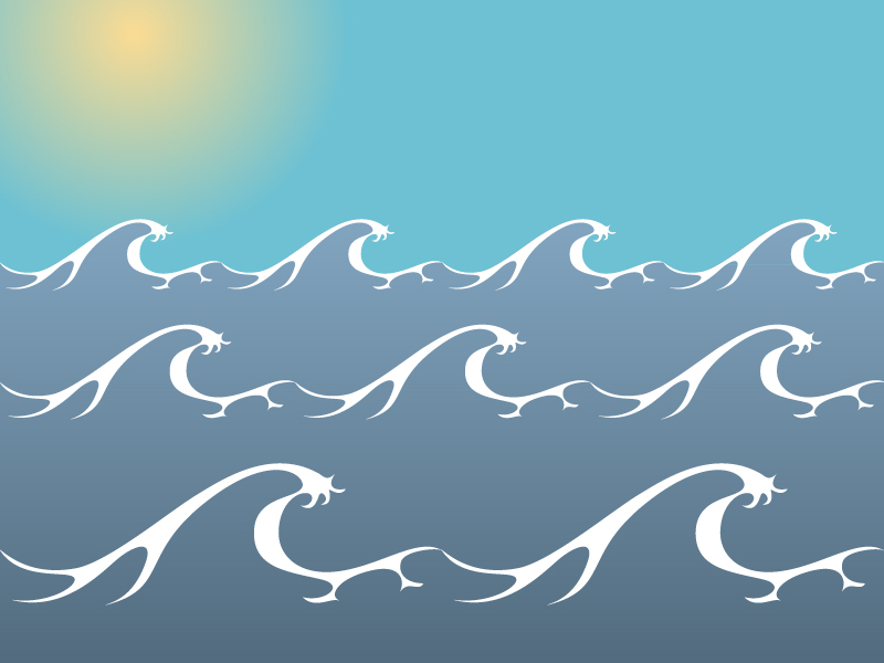 Sea Waves Drawing at GetDrawings Free for personal use Sea - ocean waves animations