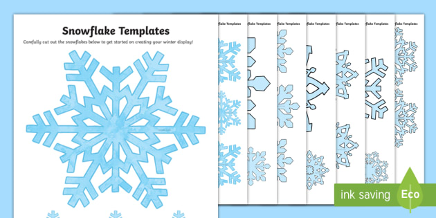 Snowflake Drawing Template at GetDrawings Free for personal - snowflake template