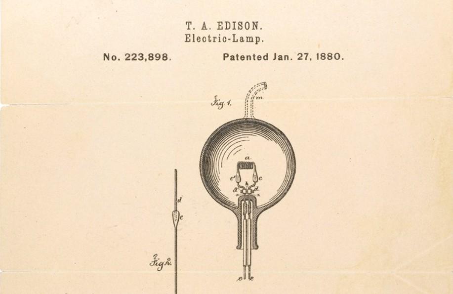 Thomas Edison Light Bulb Drawing at GetDrawings Free for