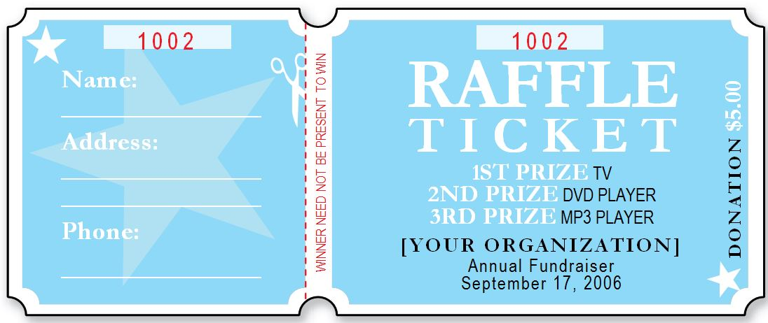 Ticket Drawing Template at GetDrawings Free for personal use