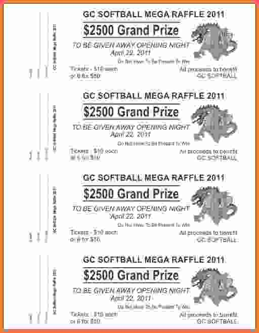 Tickets Template Drawing at GetDrawings Free for personal use - raffle ticket prizes