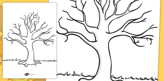 Tree For Drawing at GetDrawings Free for personal use Tree For