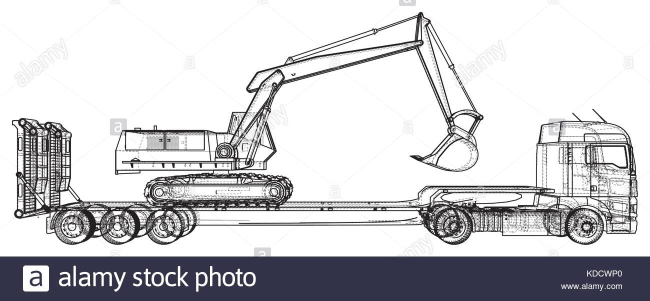 Truck Drawing Images At Getdrawingscom Free For