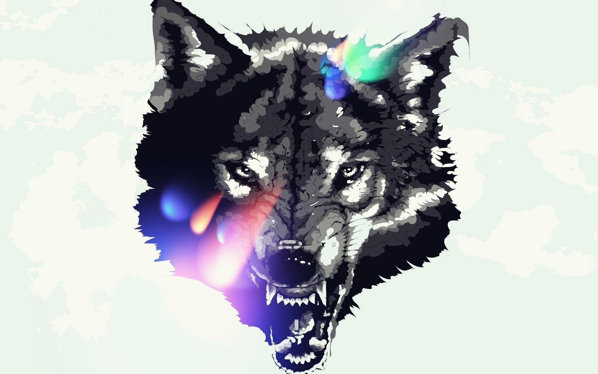 Animal Print Desktop Wallpaper Wolf Drawing Wallpaper At Getdrawings Com Free For