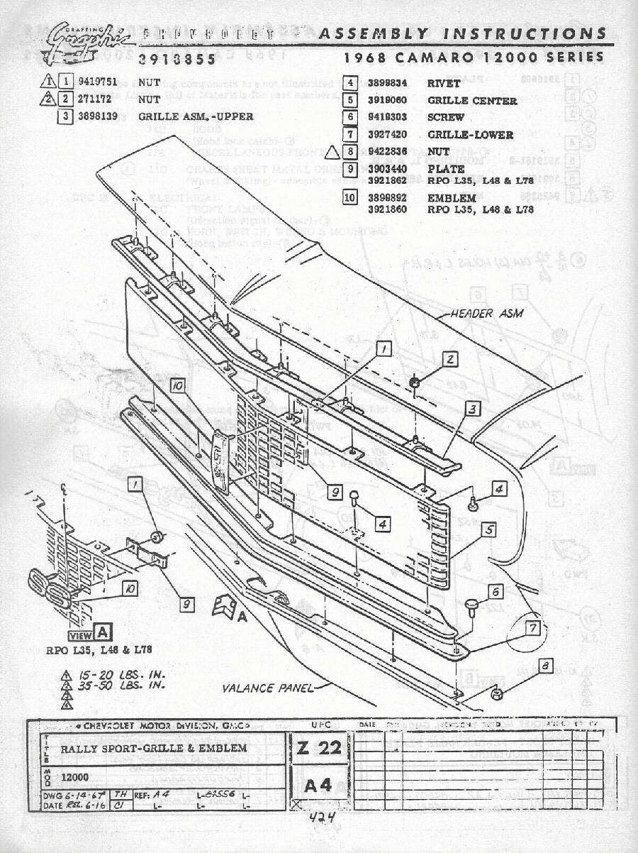 1969 camaro dash wiring diagram