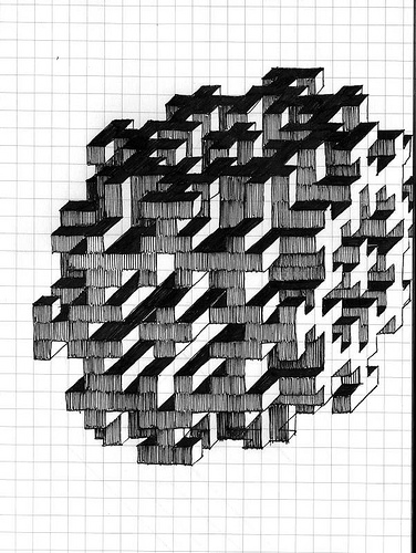 3d Drawing On Paper at GetDrawings Free for personal use 3d