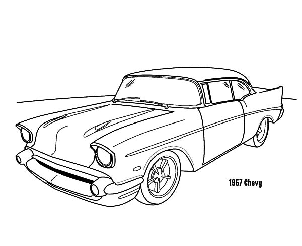 55 Chevy Drawing at GetDrawings Free for personal use 55 Chevy