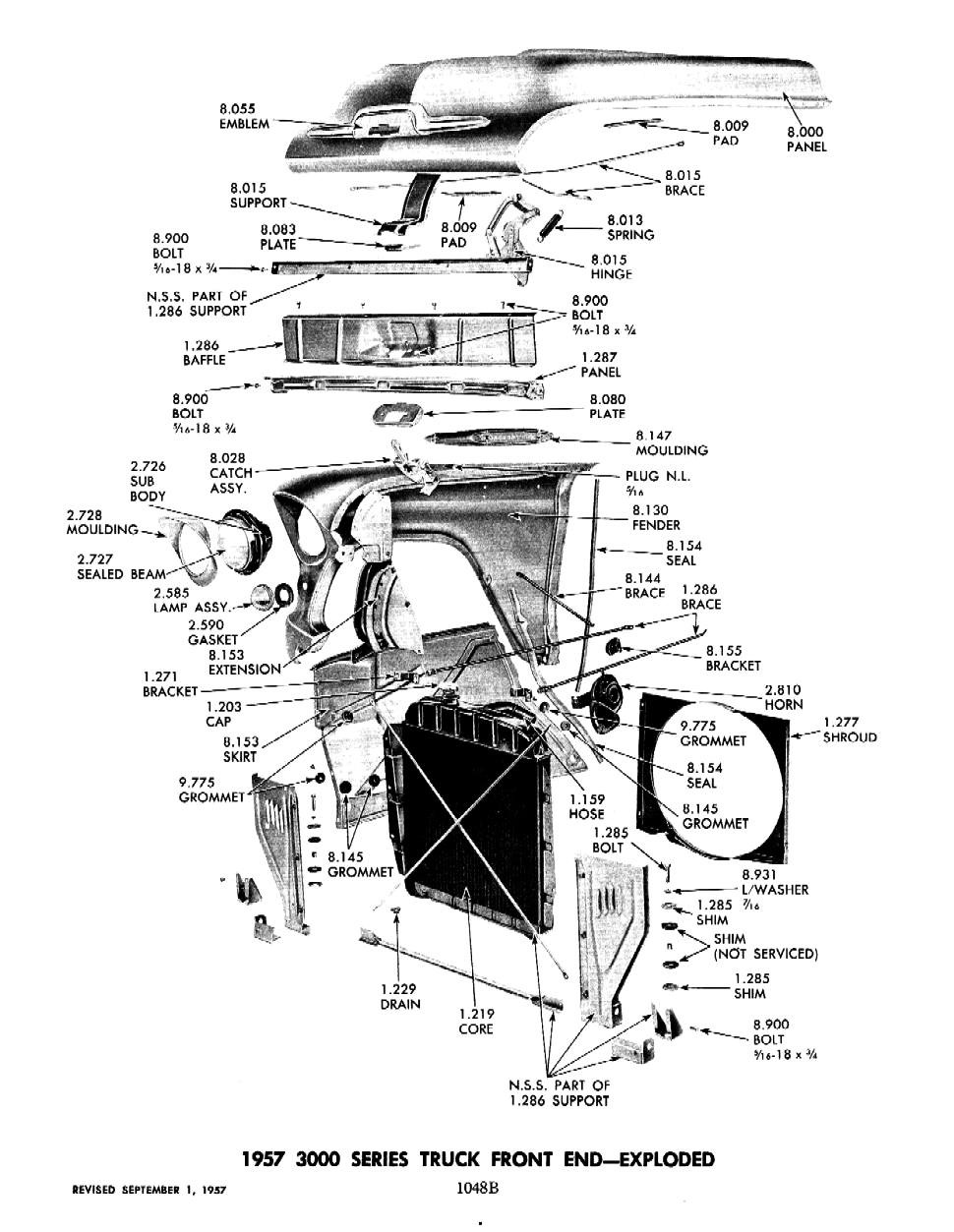 57 chevy vintage air parts