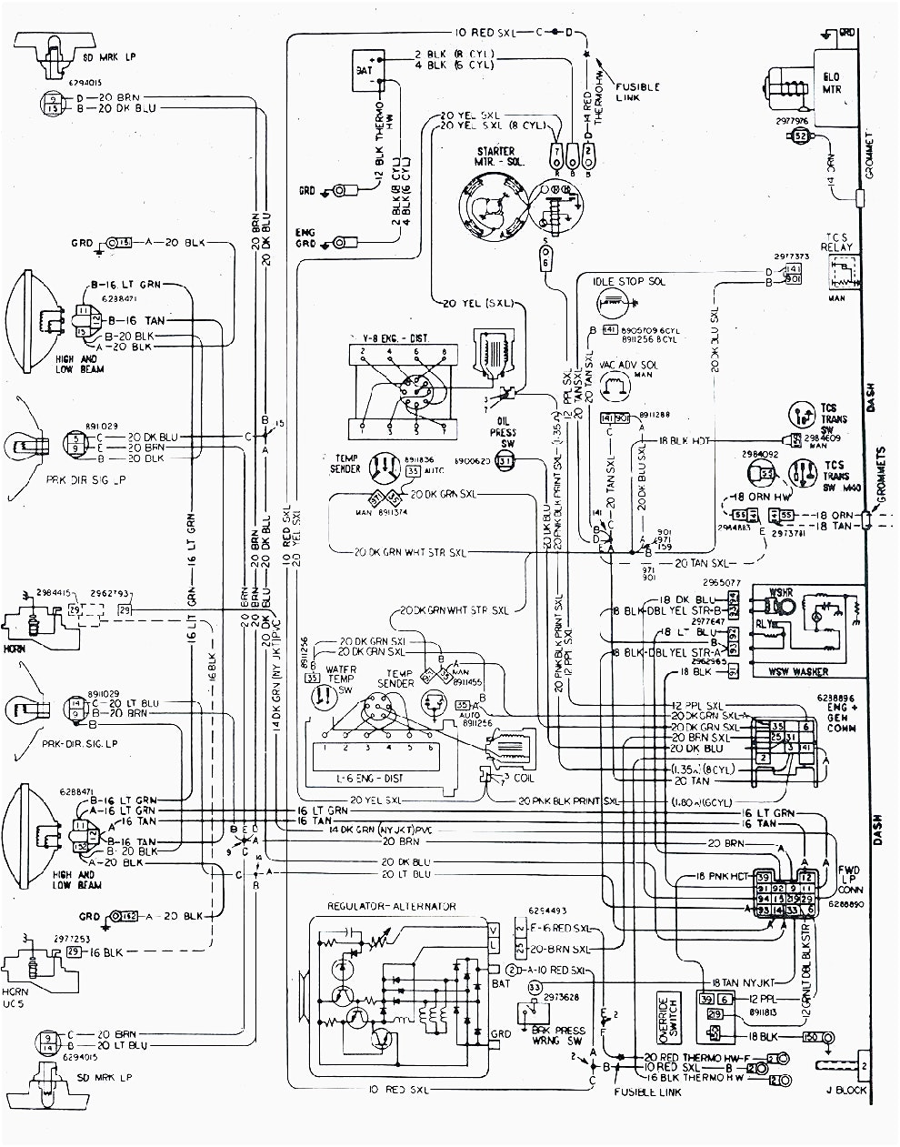 camaro z28 wiring harness