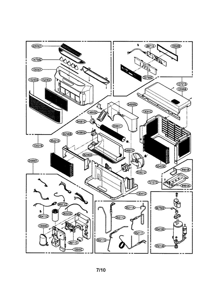 proma air conditioner operating diagrams manual
