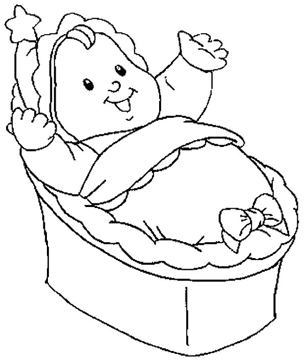 Baby Cradle Hanging Toys Baby Cradle Drawing At Getdrawings Free Download