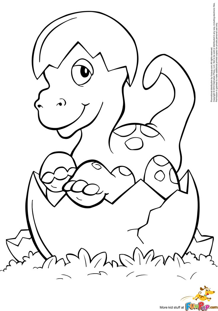 Baby Dinosaur Drawing at GetDrawings Free for personal use