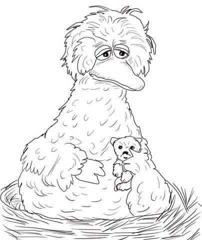 Big Bird Drawing at GetDrawings Free for personal use Big Bird