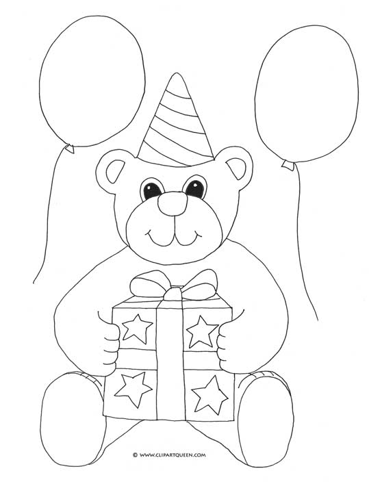 Birthday Balloon Drawing at GetDrawings Free for personal use