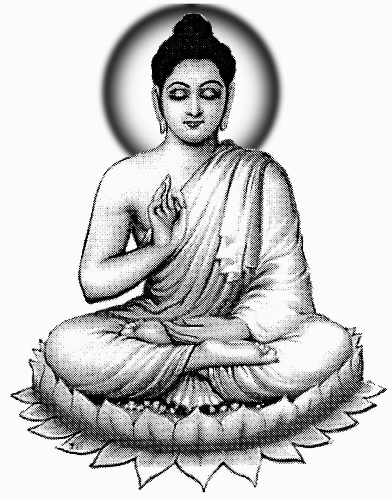Hd Wallpaper Gautam Buddha Buddha Line Drawing At Getdrawings Com Free For Personal