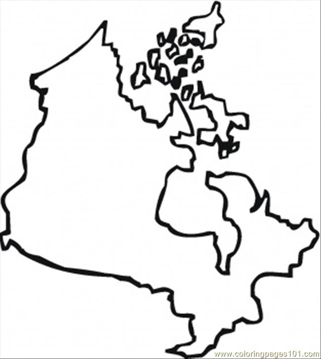 Canada Map Drawing at GetDrawings Free for personal use Canada
