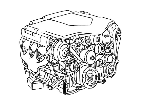 cartoon engine diagram