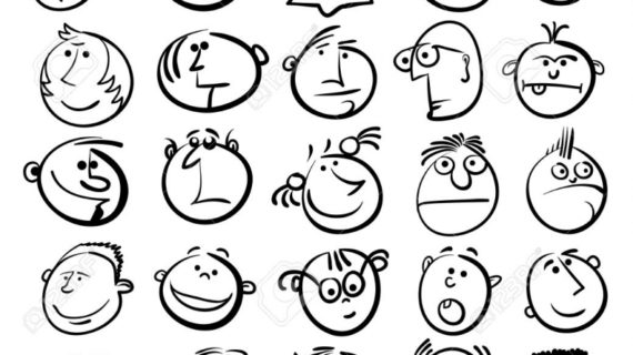 Cartoon Faces Drawing at GetDrawings Free for personal use
