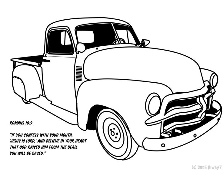 1951 chevy tow truck
