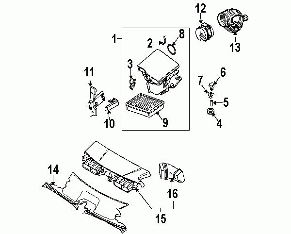 2004 chevy prizm fuse box diagram