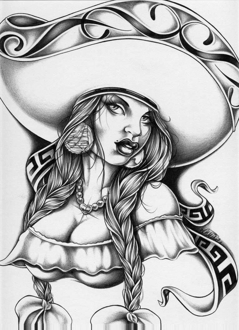 Arte Chicano Dibujos Chicano Drawing At Getdrawings Free For Personal Use Chicano
