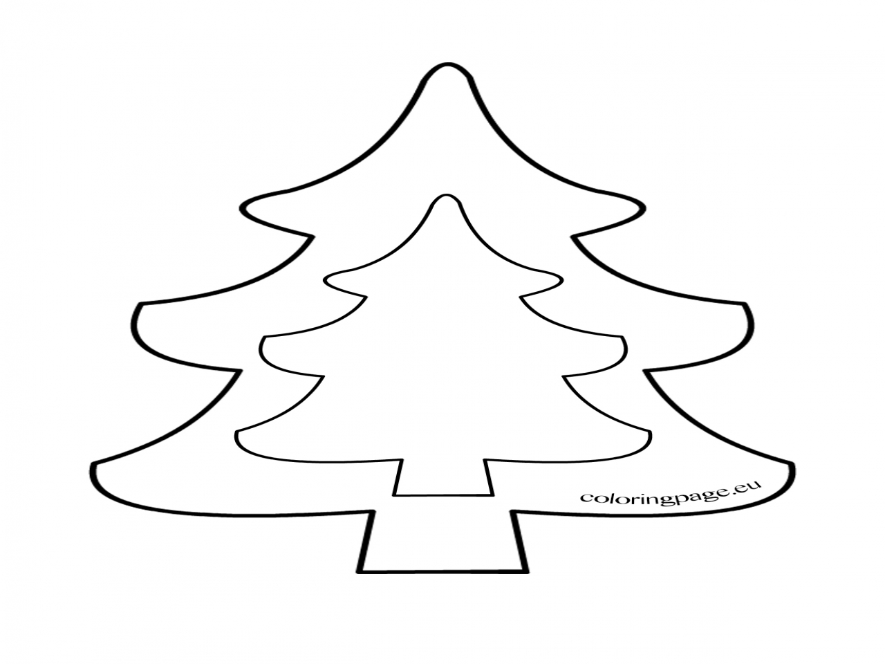 Christmas Tree Drawing Outline At Getdrawingscom Free