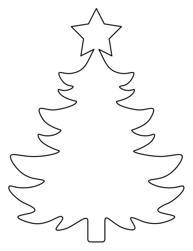 Christmas Tree Drawing Template at GetDrawings Free for - christmas tree printables