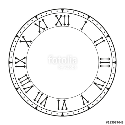 Clock Face Drawing at GetDrawings Free for personal use Clock