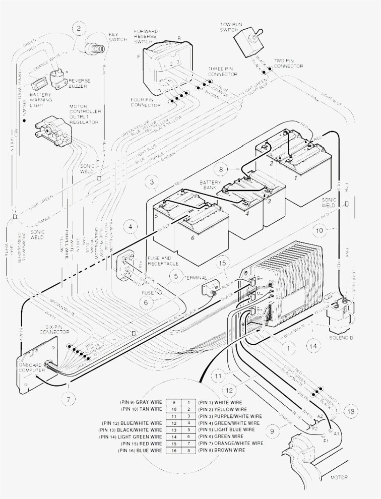 deski top pc computer wiring schematic